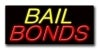 bail bonds retail neon signs