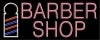 pink barber hair and nails neon signs