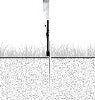 Feather Flag Outdoor Stake 15ft (Full Kit)