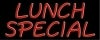 lunch special restaurant neon signs