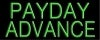 payday advance financial services neon signs