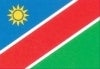 namibia africa flags