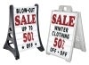 changeable letterset sandwich and sidewalk signs