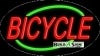 bicycle business flashing neon signs
