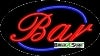 bar business flashing neon signs