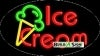 ice cream food and beverage flashing neon signs
