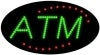 atm business led flashing neon signs