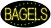 bagels food and beverage led flashing neon signs