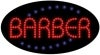 barber business led flashing neon signs