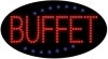 buffet food and beverage led flashing neon signs