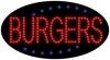 burgers food and beverage led flashing neon signs