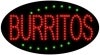 burritos food and beverage led flashing neon signs