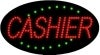 cashier business led flashing neon signs