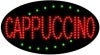 cappuccino food and beverage led flashing neon signs