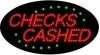 checks cashed business led flashing neon signs