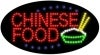 chinese food food and beverage led flashing neon signs