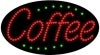 coffee food and beverage led flashing neon signs