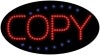 copy business led flashing neon signs
