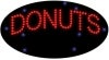 donuts food and beverage led flashing neon signs