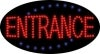 entrance business led flashing neon signs