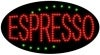 espresso food and beverage led flashing neon signs