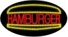 hamburger food and beverage led flashing neon signs