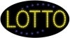 lotto business led flashing neon signs