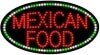 mexican food food and beverage led flashing neon signs