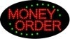 money order business led flashing neon signs
