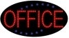 office business led flashing neon signs