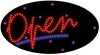 red open flashing led neon signs