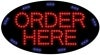 order here food and beverage led flashing neon signs