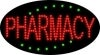 pharmacy business led flashing neon signs