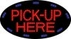 pick up here business led flashing neon signs