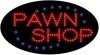 pawn shop business led flashing neon signs