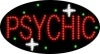 psychic business led flashing neon signs