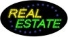 real estate business led flashing neon signs