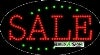 sale business led flashing neon signs