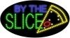 by the slice food and beverage led flashing neon signs