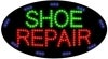 shoe repair business led flashing neon signs