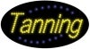 tanning business led flashing neon signs