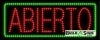 abierto open led neon signs