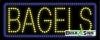 bagels food and beverage led neon signs