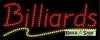 billiards business led neon signs
