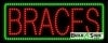 braces business led neon signs