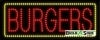 burgers food and beverage led neon signs