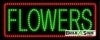 flowers business led neon signs