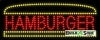 hamburger food and beverage led neon signs
