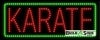 karate business led neon signs