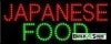 japanese food food and beverage led neon signs